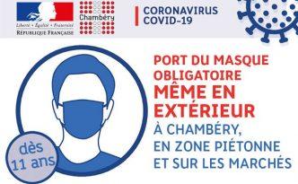 Port du Masque Obligatoire!